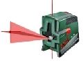 Nivela laser liniara PCL20 set de la Bosch VERDE