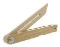 Echere reglabile din lemn de fag - 50 cm