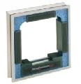150x150x35mm - precizie 0,04mm/m Nivela de precizie, cu cadru
