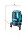 Nivela laser linii EL607 - 2 linii verticale in 90 grade si 1 orizontala