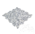 Mozaic Pebble Small Ice