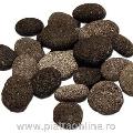 Pebbles Lava Black Sac 20kg