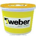 Tencuiala decorativa silicatica Weber.Pas Silicate Grupa 3