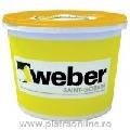 Tencuiala ultrapermeabila Weber.Pas Topdry Grupa 2 30kg