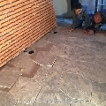 Travertin Kashmir Cross Cut Antichizat 15.2 x 30.5 x 3 cm