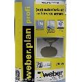 Sapa autonivelanta cu fibre de armare - Weber.Plan Profi -