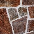 Ardezie poligonala Rusty Brown - Lespezi