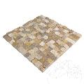 Mozaic Travertin Mix (Noce / Classic / Yellow) Scapitat 2.3 x 2.3cm