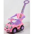 Masinuta de impins Chipolino Alpha pink - HUBROCAH1401PI