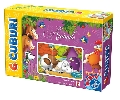 6 cuburi cu animale D-Toys