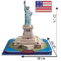 Puzzle 3D DIY Statuia Libertatii