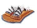 Puzzle 3D DIY Opera din Sydney