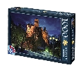 Puzzle 1000 piese Castelul Bran D-Toys