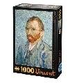 Puzzle 1000 Piese Vincent Van Gogh Autoportret D-Toys