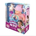 Incredibila Alice - Papusa vorbitoare - D-Toys