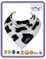 Baveta Black&White Cow