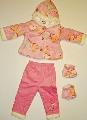 Set hainute iarna pentru bebelusi Inimioare colorate - 14024