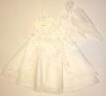 Rochita eleganta pentru fetite White Rose - 15131A