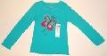 Bluzita pentru fetite Fluturas colorat