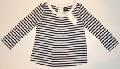 Bluza pentru fetite cu dungulite marinaresti - 15116A