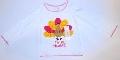 Bluza pentru fetite Paunul colorat - 15101