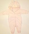Salopeta roz pentru bebelusi Pink bunny - 14986A