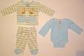 Set hainute pentru bebelusi Girafele bebeluse - 14937
