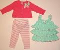Set hainute pentru fetite Fundite colorate si vesele - 14901