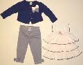 Set hainute pentru bebeluse Fundite marinaresti - 14905