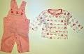 Set hainute pentru bebeluse Fluturasii roz - 14854