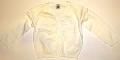 Pulover alb pentru copii - 14821B