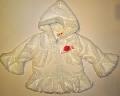 Hainuta eleganta de iarna pentru bebeluse si fetite Alba ca zapada