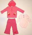 Set hainute pentru bebeluse Ciresele dulci - 14782