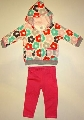 Set hainute bebelusi Floricele colorate - 14784