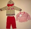 Set hainute pentru bebeluse Pink angel - 14785