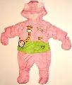 Salopeta impermeabila bebeluse Girafa isteata
