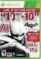 Batman Arkham City Game Of The Year Edition Xbox360 - VG4657