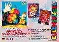 Set 8culori germane face paint, burete, pensula, carte modele Familien Initiala - BBJST208014EUL8_Initiala