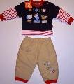 Bluzita si pantaloni pentru bebelusi - 14134A