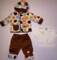 Set haine iarna bebelusi 3 piese