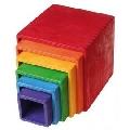 Set mare de cutii colorate curcubeu - RMK10370