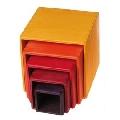 Set de cutii colorate, galben - RMK10560