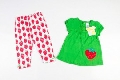 Set hainute colorate bebe cu capsunici - BBN1181