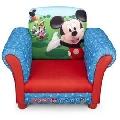 Fotoliu cu cadru din lemn Disney Mickey Mouse de copii - BBXTC83939MM