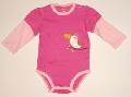 Body alb cu roz bebeluse- 12664