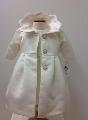 Paltonas elegant din tafta satinata pentru fetite Snow White - SNB03_1