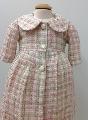 Paltonas botez de iarna din lana pentru bebeluse Rosa - SNB05