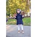 Paltonas pentru scoala de iarna pentru fetite Blue Doll - Bluemarin