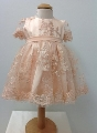 Rochita cu broderie eleganta pentru fetite Little Princess - SNB14_1