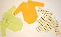 Set de 3 body-uri colorate pentru bebelusi - 15076
